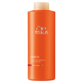 Wella Professionals Enrich Moisturising Conditioner for Fine Hair 1L