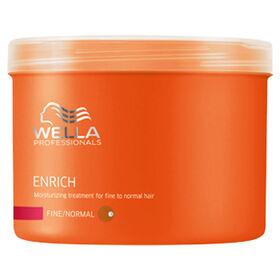 Wella Professionals Enrich Moisturising Treatment Mask for Fine Hair 500ml