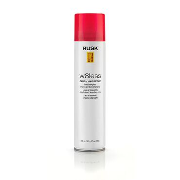 Rusk Designer w8less Plus Hairspray 359ml