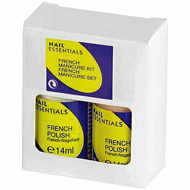 Nail Essentials French Manicure Kit 2 Pack