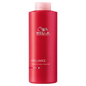 Wella Professionals Brilliance Shampoo for Coloured Thick Hair 1L