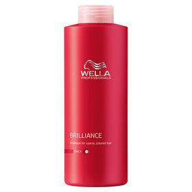 Wella Professionals Brilliance Shampoo for Coloured Thick Hair 1L