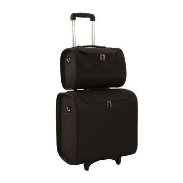 Salon Services Dual Trolley Bag Black