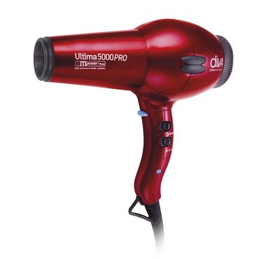 Diva Professional Styling Ultima 5000 PRO Hair Dryer - Red