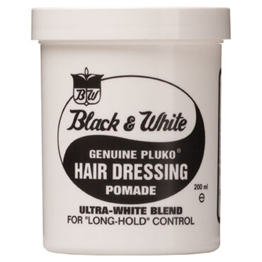 Black & White Original Hair Dressing Pomade 200ml