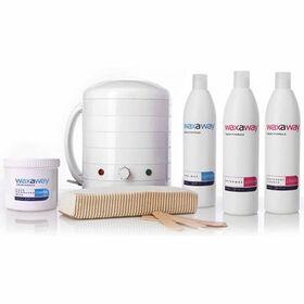 waxaway Starter Kit Crème Wax and Heater 1000cc