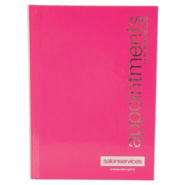 Salon Services Appointment Book Freelance Pink