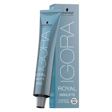 Schwarzkopf Professional Igora Royal High Lift Permanent Hair Colour - 10-21 Ultra Blonde Ash Cendre 60ml