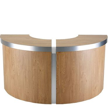 REM Helix Reception Desk Curved