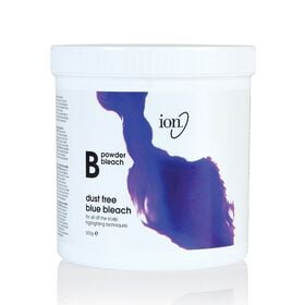 Ion Powder Bleach Dust Free Blue Bleach Tub 500g