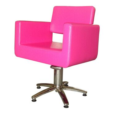 Salon Services Latina Styling Chair Pink