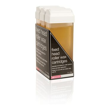 Salon Services Roller Warm Wax 3 pack with fixed cartridges