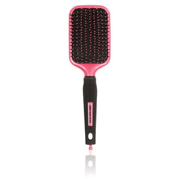 Salon Services Paddle Brush Pink