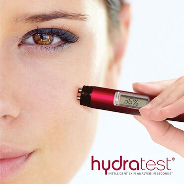 Beauty Pro HydraTest Skin Analysis Red