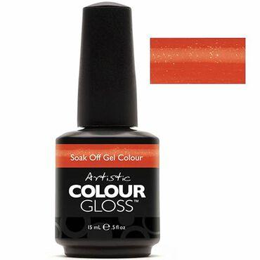 Artistic Colour Gloss Soak Off Gel Polish - Haute Cout Orange 15ml