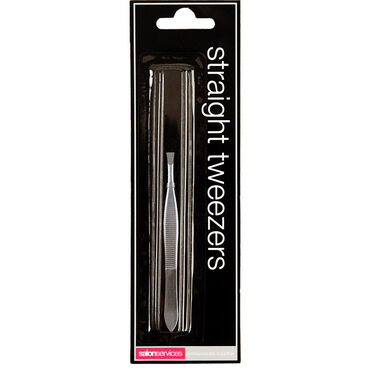 Salon Services Tweezers Straight