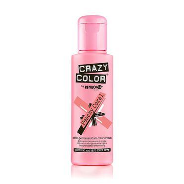 Crazy Color Crazy Color Semi Permanent Hair Colour Cream - Peachy Coral 100ml
