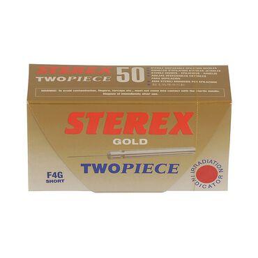 Sterex Electrolysis 2 Piece Needles F4G Gold