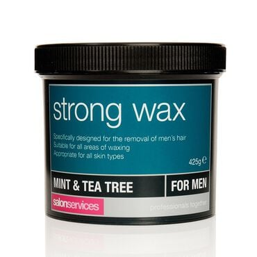 Salon Services Strong Wax Mint and Tea Tree 425g