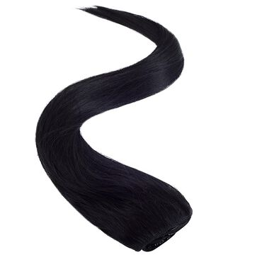 Wildest Dreams Clip In Full Head Human Hair Extension 18 Inch - 1 Blackest Black