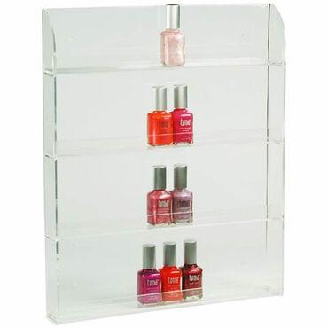 Beauty Express Nail Polish Display Wall Rack For 36 Bottles
