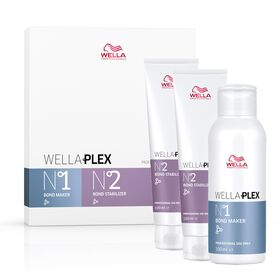 Wella Professionals Wellaplex Colour Protection Bond Maker & Stabliser Travel Kit