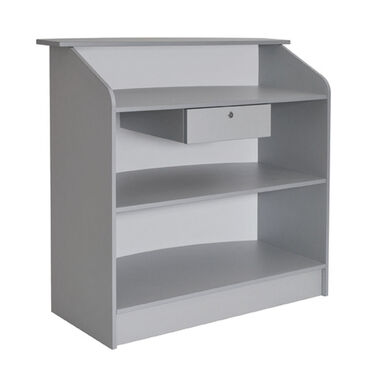 Bellazi Anabel Reception Desk Silver