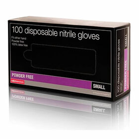 Salon Services Disposable Nitrile Gloves Pack of 100 - Large