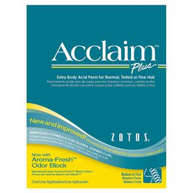 Acclaim Plus Extra Body Acid Perm for Normal, Tinted or Fine Hair