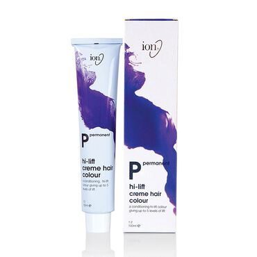 Ion Hi-Lift Permanent Hair Colour - 11.2 Ultra Light Iridescent Blonde 100ml