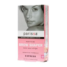 Parissa Brow Shaper Mini Wax Strips 32 Applications