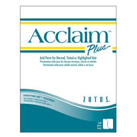 Acclaim Plus Acid Perm for Normal, Tinted or Highlighted Hair