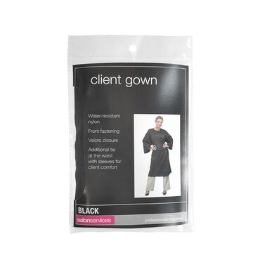Salons Client Gown With Sleeves | Wholesale Hair Accessories ...