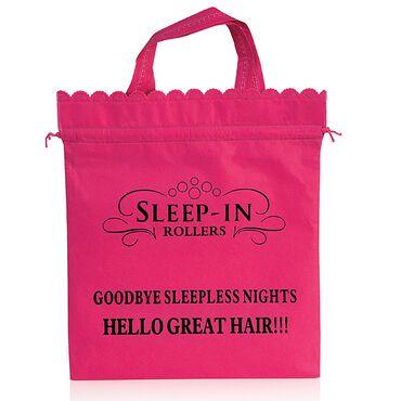 Sleep In Rollers Original Storage Bag Pink