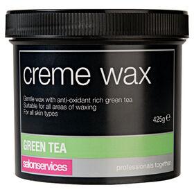 Salon Services Crème Wax Green Tea 425g