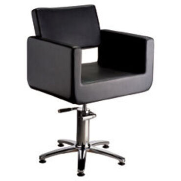 Salon Services Latina Styling Chair Black