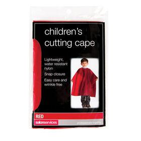 Salon Services Children's Cutting Cape Red