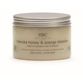 SBC Manuka Honey and Orange Blossom Body Scrub
