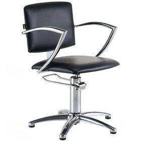 REM Atlas Hydraulic Styling Chair Black