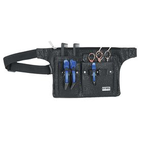 Sibel Croc Tool Belt Black