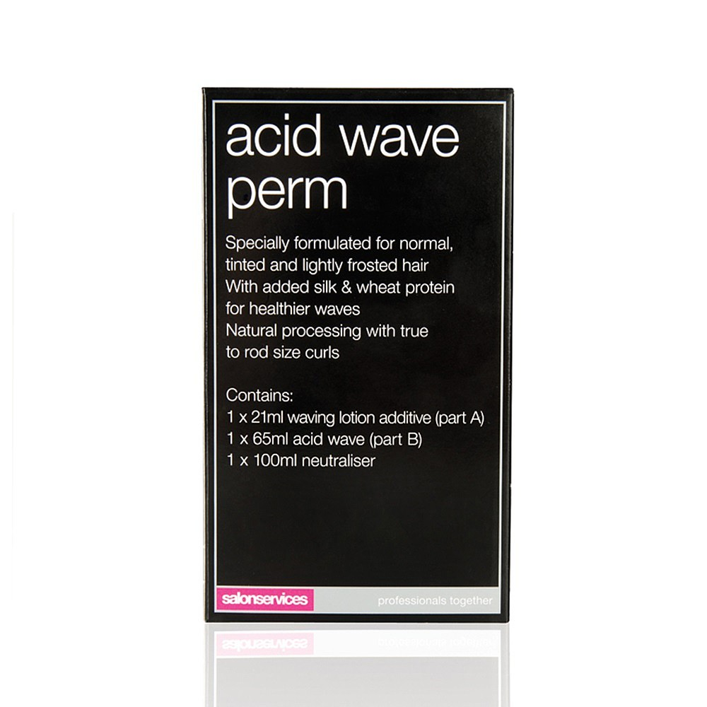 Straight perm edinburgh - Salon Services One Use Acid Wave Perm