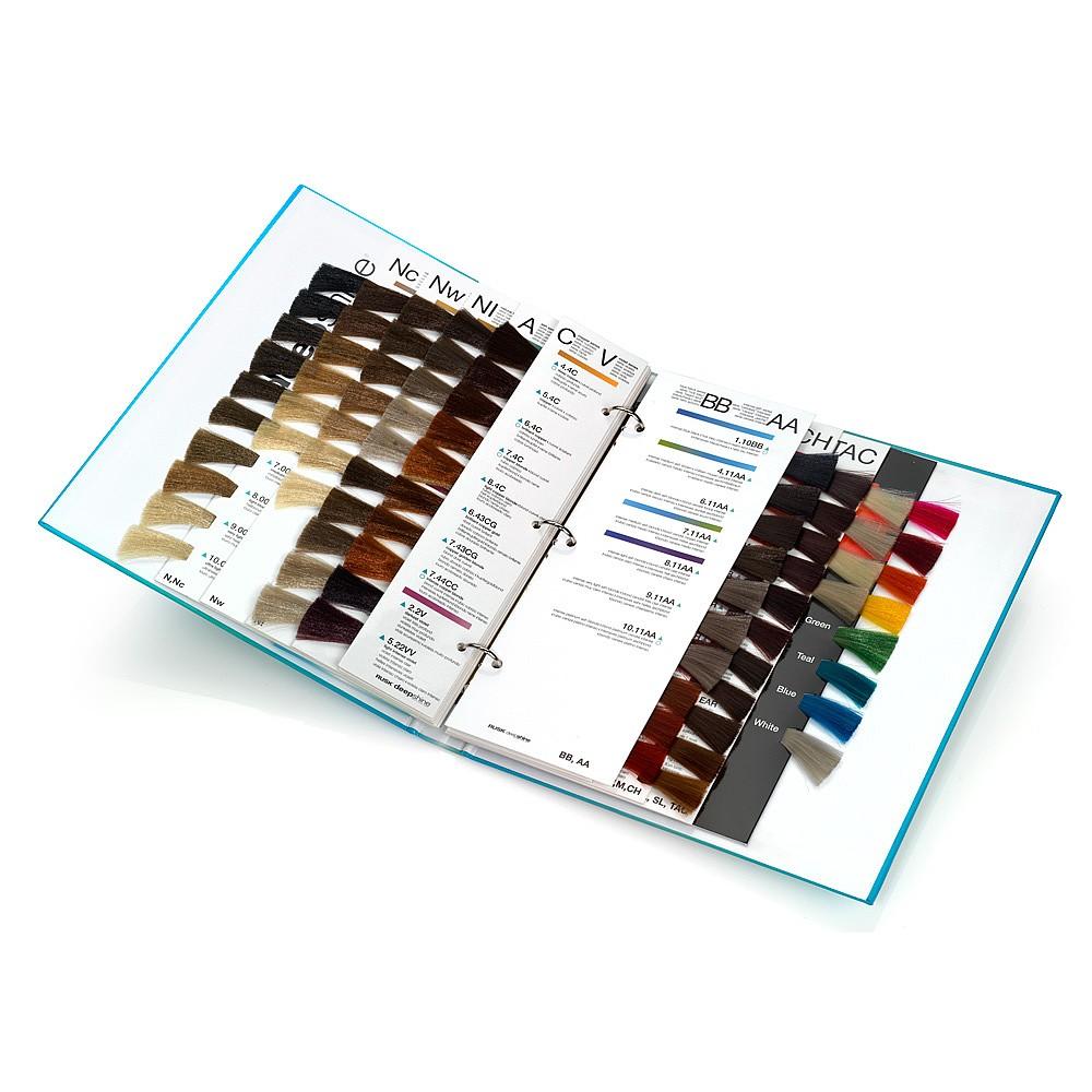 Rusk deepshine colour chart shade charts salon services