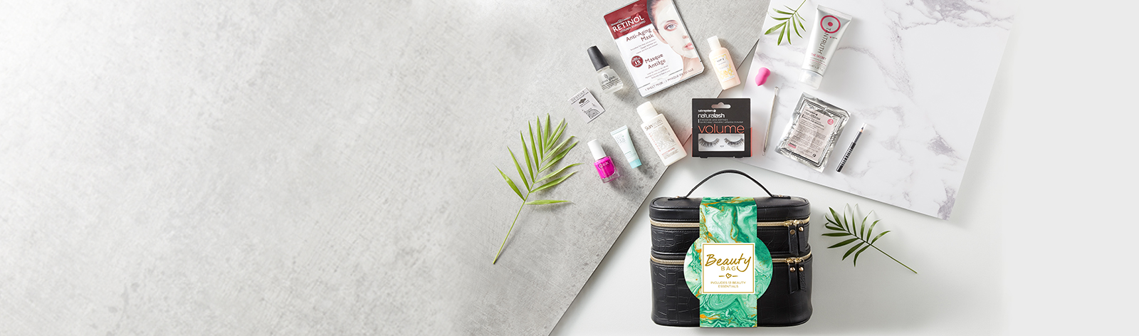 Free Beauty Bag when you spend €50 on Beauty and Nails