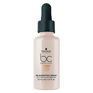Schwarzkopf Professional Bonacure Q10 Ageless Hair Rejuvenating Serum 30ml