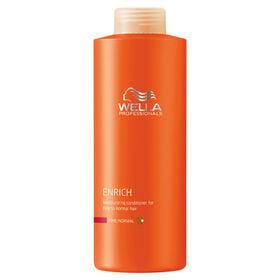 Wella Professionals Enrich Moisturising Conditioner for Fine Hair 1L