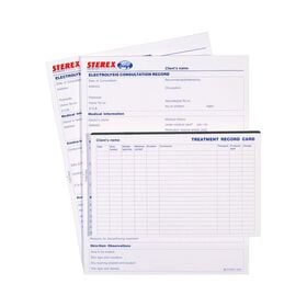 Sterex Electrolysis Consultation Cards