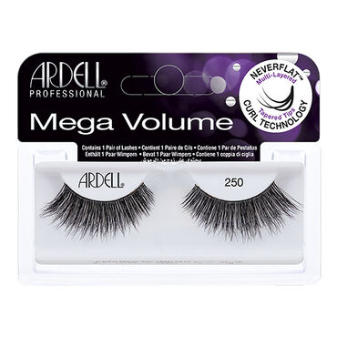 Ardell Mega Volume Strip Lashes 250 Black