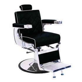 S-PRO Knightsbridge Barber's Chair Black