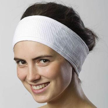 Beauty Express Waffle Headband White