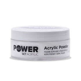ASP Power Set Acrylic Powder - Ultra Bright White 45g